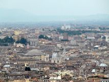 ROME, ITALY, EUROPE, ROOFS OF HOUSES Royalty Free Stock Image