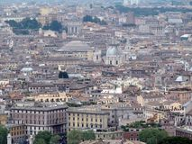 ROME, ITALY, EUROPE, ROOFS OF HOUSES Stock Image