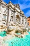 Rome, Italy - Fontana di Trevi stock photography