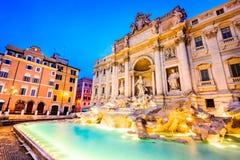 Rome, Italy - Fontana di Trevi stock image