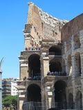 19.06.2017, Rome, italy: Great Roman Colosseum  Coliseum, Colosseo , Flavian Amphitheat Stock Images