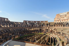 ROME, ITALY - JANUARY 21, 2010: Colosseum Stock Image