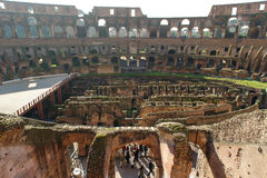ROME, ITALY - JANUARY 21, 2010: Colosseum Royalty Free Stock Images