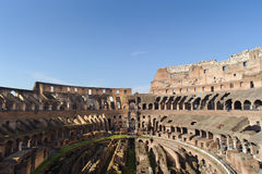 ROME, ITALY - JANUARY 21, 2010: Colosseum (Colosseo) Royalty Free Stock Images