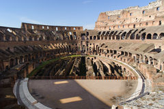 ROME, ITALY - JANUARY 21, 2010: Colosseum Stock Photography