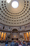ROME, ITALY - JANUARY 27, 2010: Inner view of Pantheon Royalty Free Stock Photos