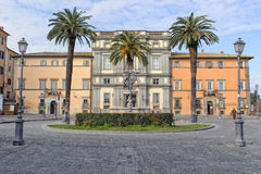 ROME, ITALY - JANUARY 20, 2010: Piazza IV Novembre Stock Photos