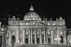 St. Peter`s Basilica in Vatican royalty free stock image