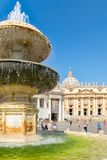 The Basilica of Saint Peter at the Vatican in Rome Royalty Free Stock Image