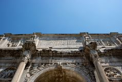 Arch of Constantine. stock photos