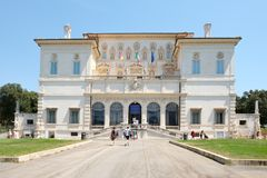Galleria Borghese, a famous art museum in Rome Royalty Free Stock Image