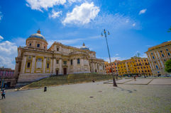 ROME, ITALY - JUNE 13, 2015: Basilica di Santa Maria Maggiore at Rome, one of beautiful churchs that can find in the Royalty Free Stock Photo