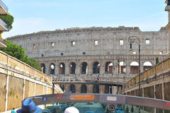Rome, ITALY - JUNE 01: Colosseum in Rome, Italy on June 01, 2016 Stock Photography
