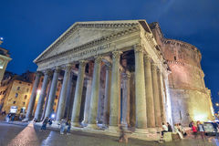 Rome, ITALY - JUNE 01, 2016: Pantheon in Rome, Italy Stock Image