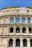 ROME, ITALY - JUNE 24, 2017: People visiting inside part of  Colosseum in city of Rome. Italy Royalty Free Stock Image