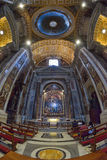Rome, ITALY - JUNE 01: St. Peter's Basilica in Vatican, Rome, Italy on June 01, 2016 Royalty Free Stock Photos