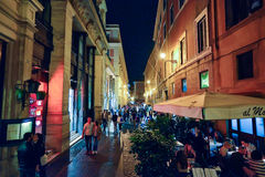 Rome, ITALY - JUNE 01, 2016: Streets of Rome Royalty Free Stock Photography
