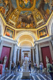 Rome, ITALY - JUNE 01: The Vatican Museum in Rome, Italy on June 01, 2016 Stock Images