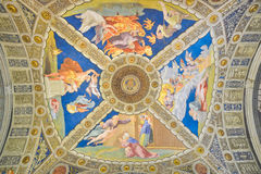 Rome, ITALY - JUNE 01: The Vatican Museum in Rome, Italy on June 01, 2016 Royalty Free Stock Photo