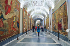 Rome, ITALY - JUNE 01: The Vatican Museum in Rome, Italy on June 01, 2016 Royalty Free Stock Photography