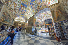 Rome, ITALY - JUNE 01: The Vatican Museum in Rome, Italy on June 01, 2016 Stock Photography