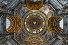 Church of Sant`Agnese - Rome, Italy royalty free stock images