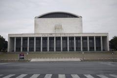 Palazzo dei Congressi. Rome, Italy - March 15, 2015 : Palazzo dei Congressi building in Rome Stock Photo
