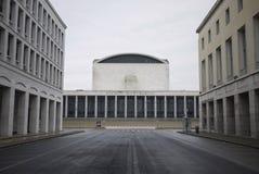 Palazzo dei Congressi. Rome, Italy - March 15, 2015 : Palazzo dei Congressi building in Rome Royalty Free Stock Photography