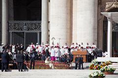 Pope Francis Inauguration Mass Stock Photo