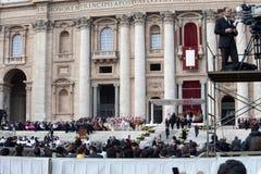 Pope Francis Installation Ceremony Royalty Free Stock Photo