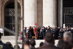 Pope Francis Installation Ceremony - Guests Stock Photo