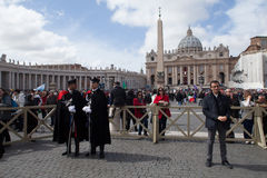 Vatican - St. Peter Square Stock Photo