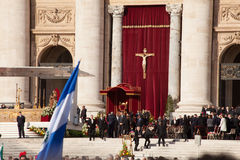 Pope Francis Installation Ceremony - Celebrities I Stock Images