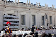 The Pope Francis Inauguration Mass Royalty Free Stock Photography