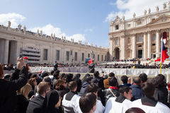 The Pope Francis Inauguration Mass Stock Image