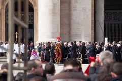 The Pope Francis Inauguration Ceremony - World Lea Stock Image
