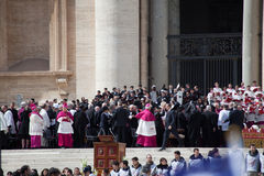 The Pope Francis Inauguration Ceremony Royalty Free Stock Images