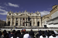 Pope Francis Inauguration Ceremony royalty free stock image