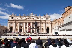 Pope Francis Inauguration Ceremony Royalty Free Stock Photography