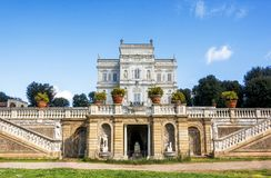 He Villa Doria Pamphili in Rome, Italy Stock Photos