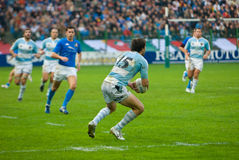 ROME, ITALY - NOVEMBER 18 2006. Rugby test match Italy-Argentina Stock Images