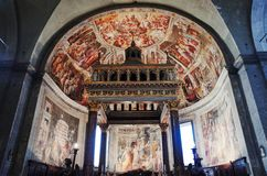 San Pietro in Vincoli Saint Peter in Chains, ROME, ITALY royalty free stock image