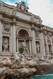 Rome, Italy. One of the most famous landmarks - Trevi Fountain Royalty Free Stock Photo