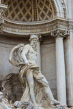 Rome, Italy. One of the most famous landmarks - Trevi Fountain Stock Photo
