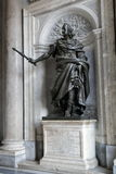 Rome, Italy. Philippo IV statue in Santa Maria Maggiore Church Royalty Free Stock Photos