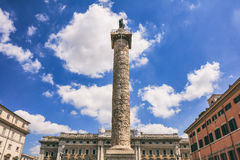 Rome, Italy - Piazza Colonna Royalty Free Stock Photos