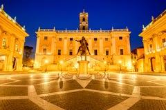 Rome, Italy - Piazza del Campidoglio Stock Photos