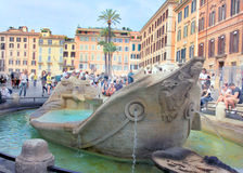 Rome, Italy - Piazza di Spagna royalty free stock images