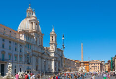 Rome. Italy. The Piazza Navona Royalty Free Stock Image