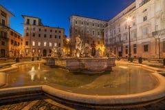 Rome, Italy: Piazza Navona Stock Image